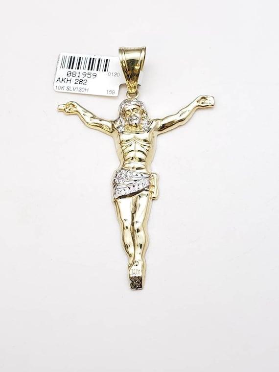 10k jesus pendant