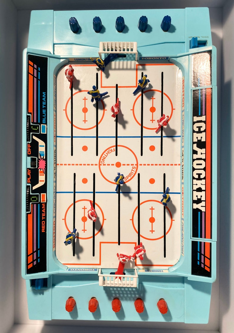 Ice Hockey Electric  1985  Tomy