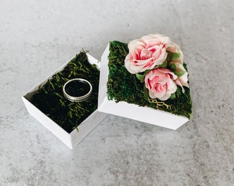 Floral Gift Box - Perfect for a special gift or bridesmaid proposal!