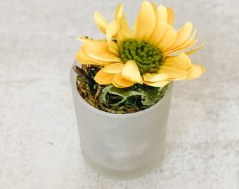 Mini Artificial Sunflower Flower Arrangement - Surprise Mom for Mother's Day!