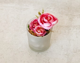 Mini Artificial Flower Arrangement - Surprise Mom for Mother's Day!