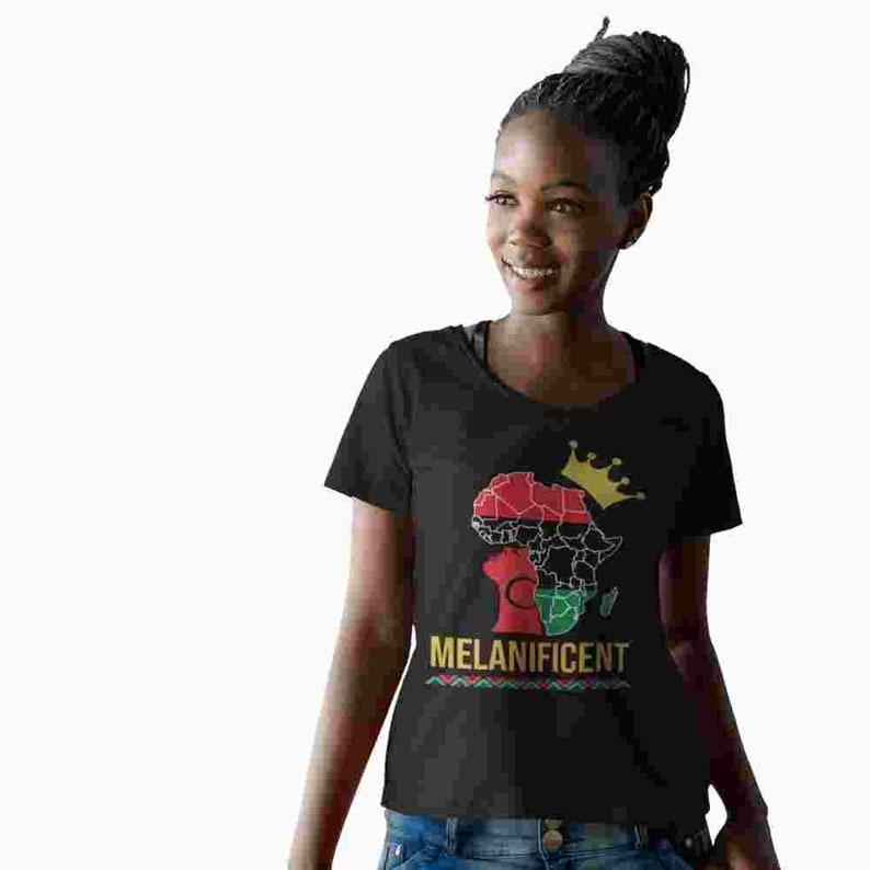 Melanin Queen African Queen Black Girl Magic Melanin Magic image 0