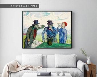 A1 A2 A3 A4 A5 Vincent Van gogh Bedroom Vintage Art Print Poster