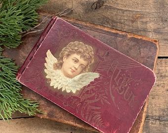 Antique Victorian Autograph Book