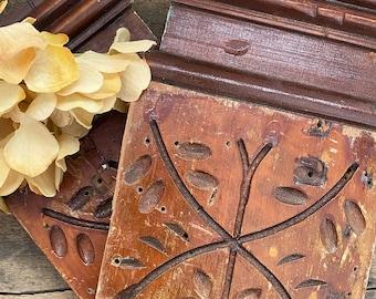 Antique Wooden Plinth - Architectural Salvage