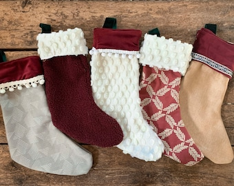 Custom Christmas stockings | personalized stockings | Christmas decor