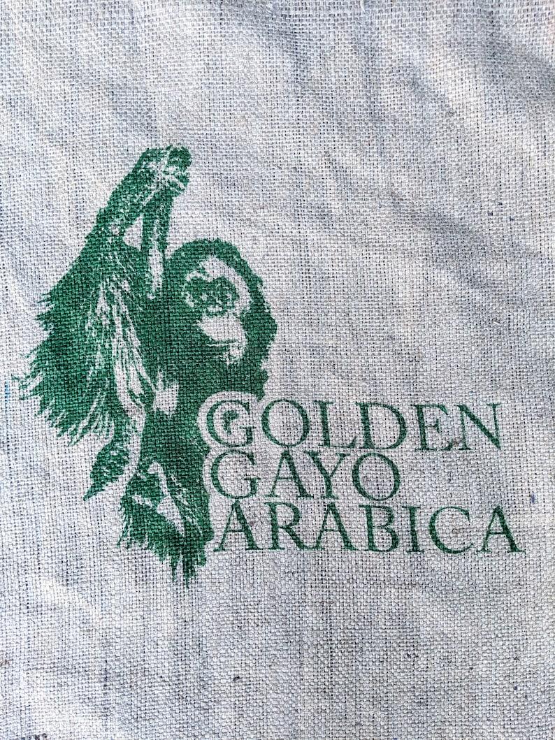 Orangutan Project Coffee Sack image 0