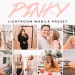 PINKY Mobile Lightroom Preset