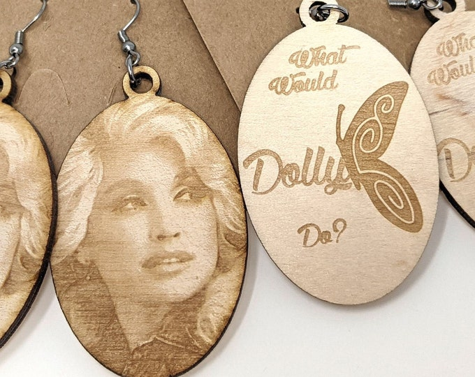 Dolly - What Would Dolly Do? Earrings and Things