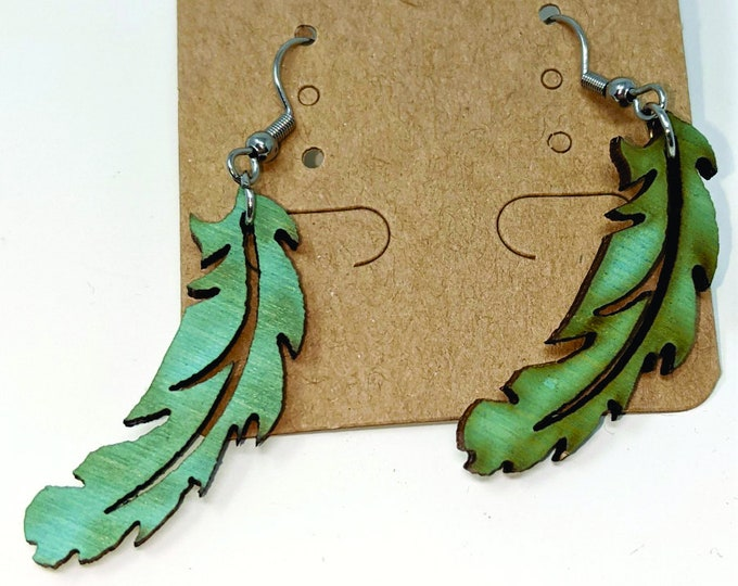 Fairies and Feathers Earrings