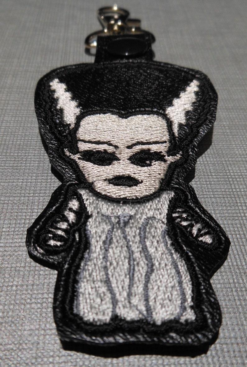 Bride of Frankenstein Chibi Key Fob