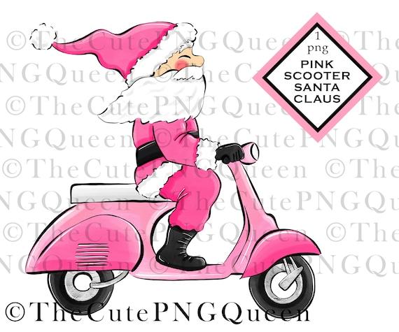 Winter Clipart Cute Santa Christmas Instant Download Christmas Clip Art Santa PNG Tee Shirt Design PNG for Sublimation