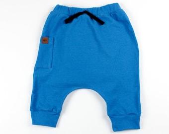 Child Pants,Drop Crotch Pants,Gift Kids Harem Shorts,Kids Teal BlueGreen Harem Short Capri,Toddler Baby Boy Girl Shorts,Kids/' Shorts