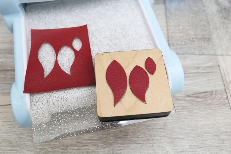 Steel Rule Metal Die Cutter teardrop Leather Die Cut,Leather Punch Leather die cut Layered teardrop earrings Leather Cutting Die