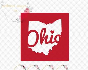 Ohio State Buckeyes Svg Etsy