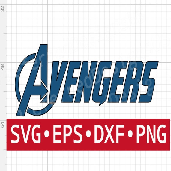 Avengers Svg File Digital Download For Cricut And Silhouette Etsy