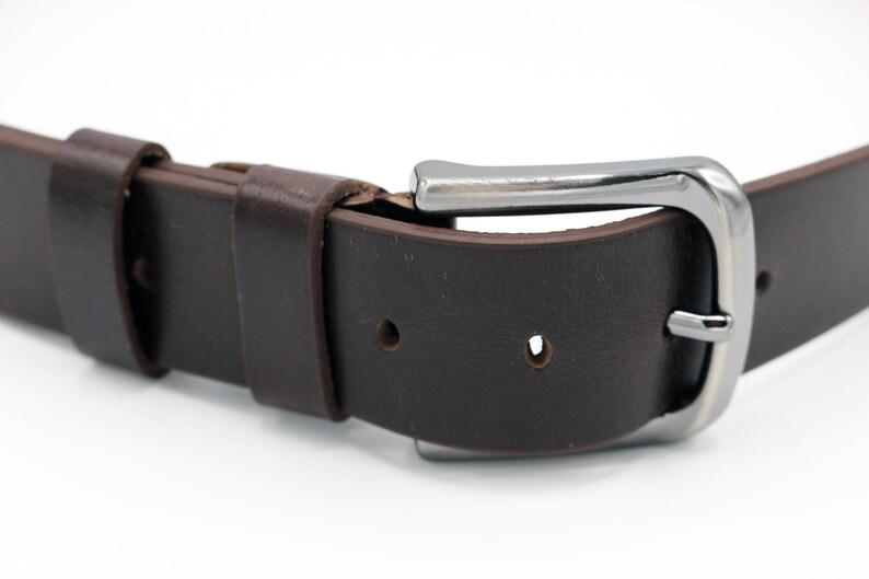 Mens Leather Belt Personalized Brown Leather Belt Handmade Belt Casual Belt Gifts for Men Monogrammed Belt Jeans Belt Wedding Gift