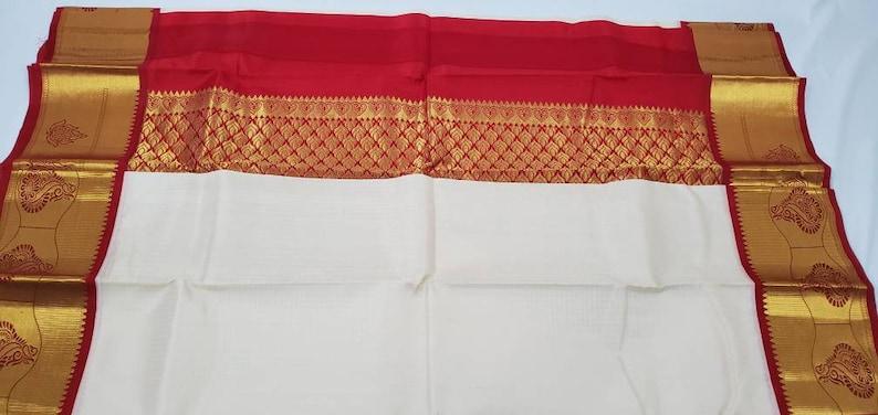 Pure kanjeearam silk mark certified saree