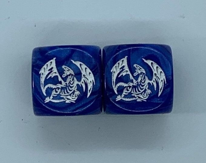 Yu-Gi-Oh! Blue Eyes White Dragon Dice