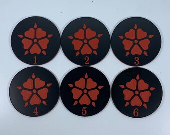 Sisters of Bloodied Rose Objective Tokens