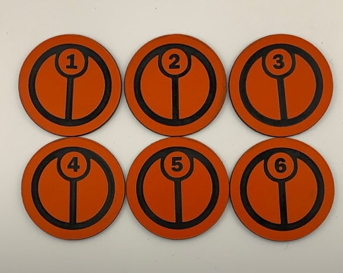 Fire Empire Objective Tokens