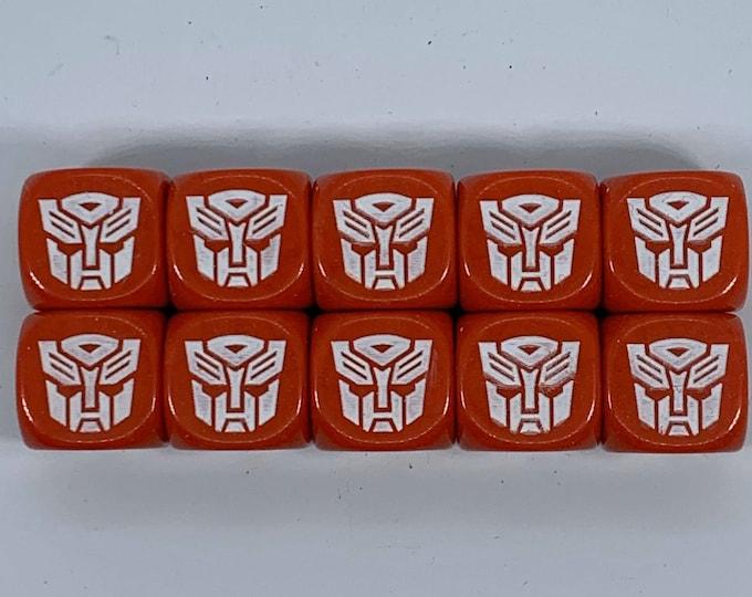 Transformers Autobots Dice