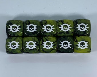 Limited Edition Death Legion Dice