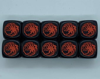 House Targaryen Dice