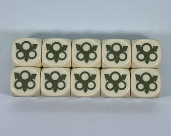 Plague God Dice