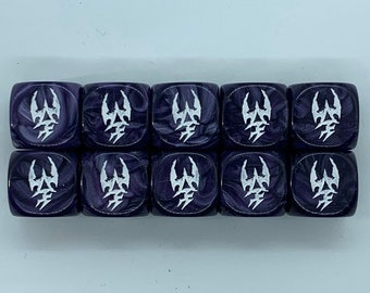 Special Edition Dark Space Elf Dice