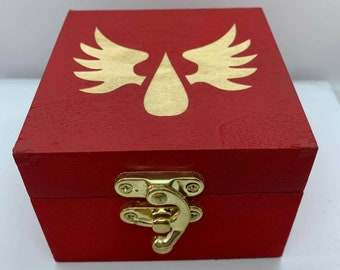 Blood Knights Dice Box