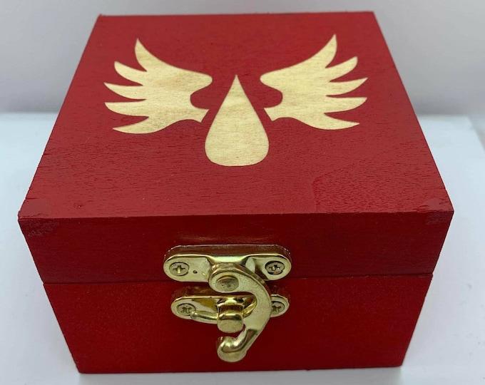 Blood Knights Dice Box
