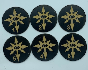 Chaos Legion Objective Tokens