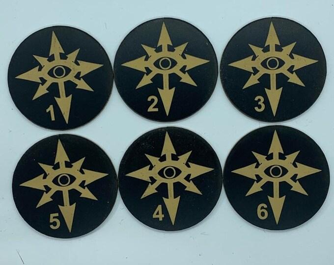 Chaos Legion Objective Tokens
