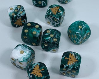 Limited Edition Angel Knights Dice