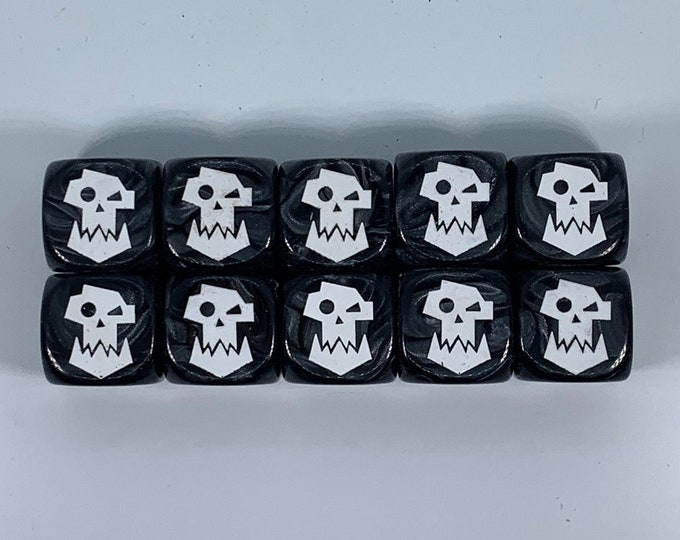 Special Edition Space Orc Dice