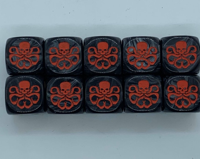 Special Edition Marvel Hydra Dice