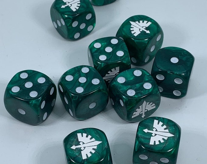 Special Edition Angel Knights Dice