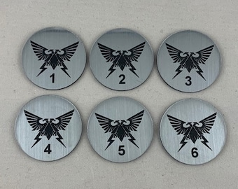 Imperial Aquila Objective Tokens