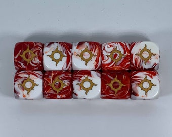 Limited Edition Ouroboros Legion Dice