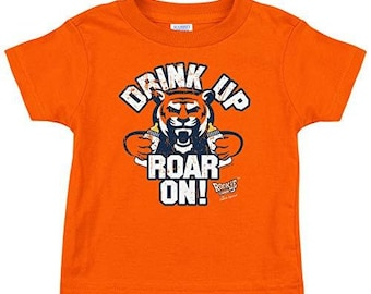 Drink Up Chop On Red Bodysuit or Toddler Tee Rookie Wear by Smack Apparel KC Football Fans NB-4T