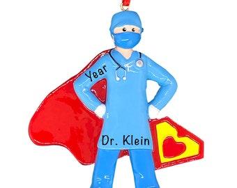 Everyday Hero Heath care medical field ornaments set of 6