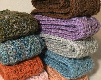 Alpaca wool scarf
