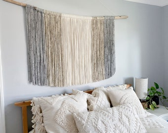 Extra Large Neutral Wall Hanging / Tapestry