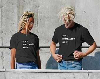 End Brutality Now - #justiceforfloyd (T-Shirt)