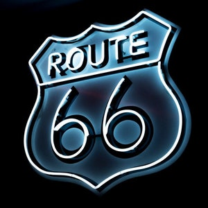 ROUTE 66 Custom Business Store Neon Sign Flex Led Neon Light Sign Led Text Custom Led Neon Sign Home Room Decoration Instagram Style