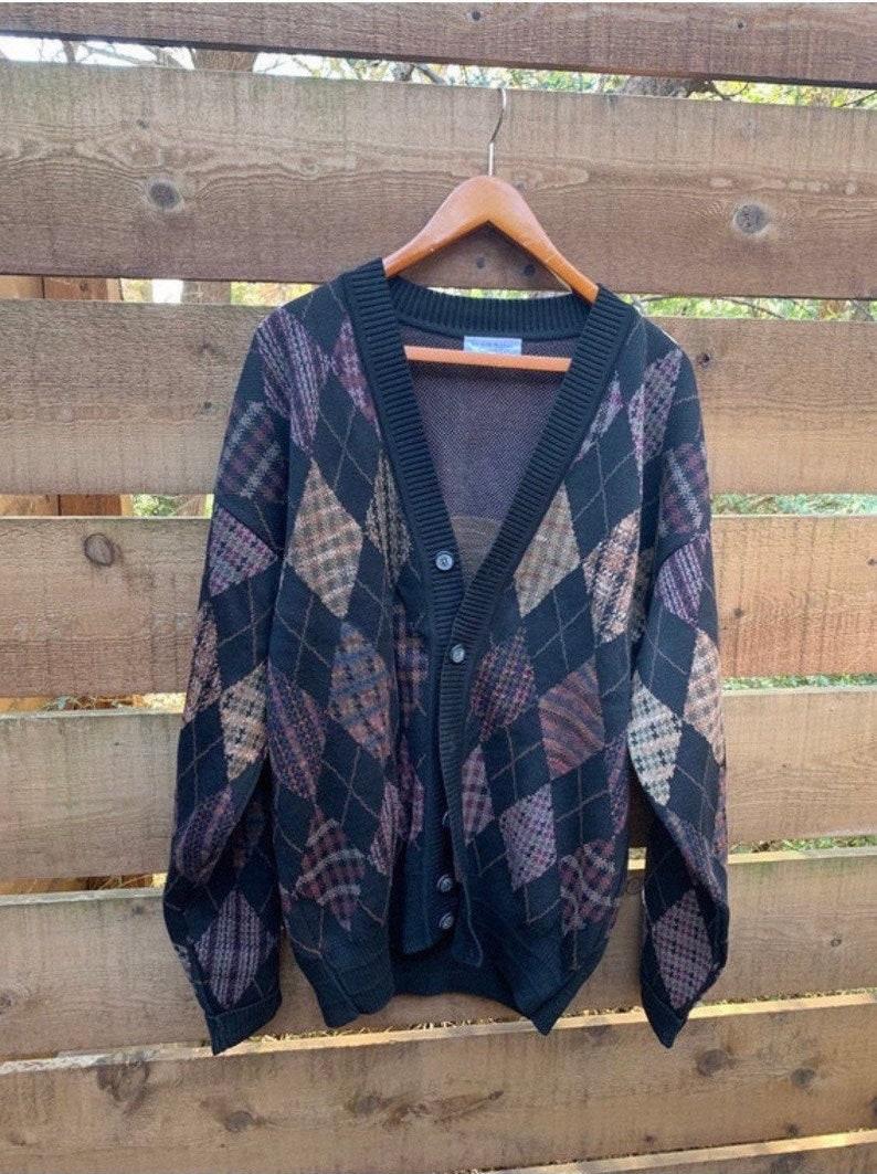 Raphael XL vintage cardigan 90s Tricots St