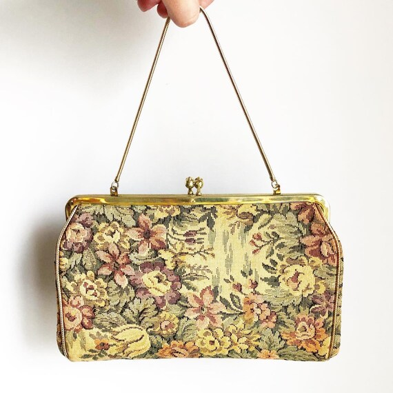 50s/60s Tapestry Evening Bag