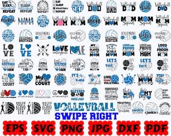 volleyball svg bundle