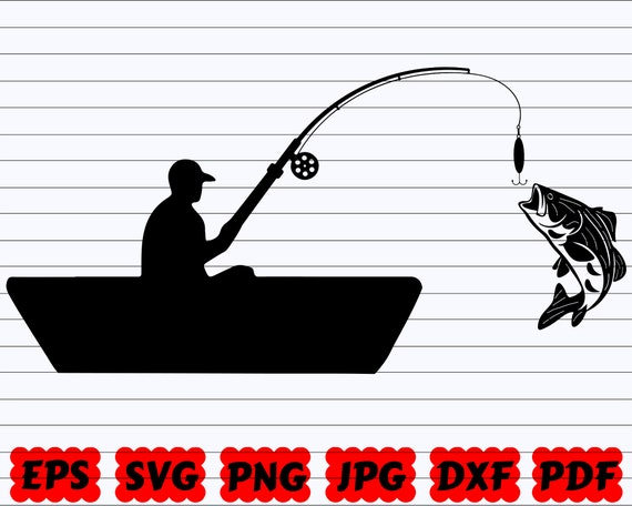 Download Fishing Cut File Boat Svg
